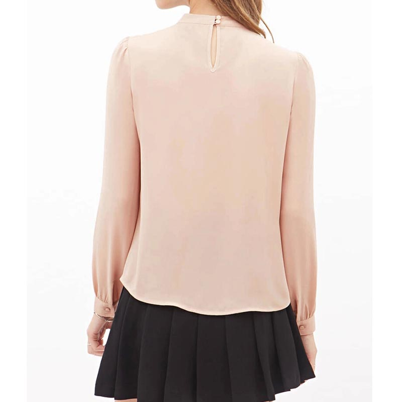 HTB1mqQXHpXXXXbXXVXXq6xXFXXXI - Women Elegant Chiffon Blouses Sexy Blouse Shirt Casual Long Sleeve