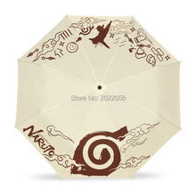Free Shipping Anime Manga Kids Folding Naruto Umbrella 011