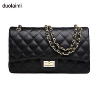 Luxury Handbags Women Bags Designer Top Quality Double Flap Caviar Bag Brand Women Should Bag Fashion