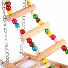 Wooden Exercise Ladder for Birds