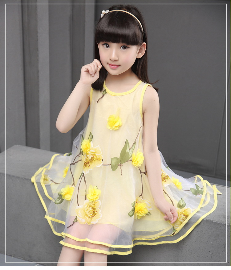 yellow dress 4t9 8t 13