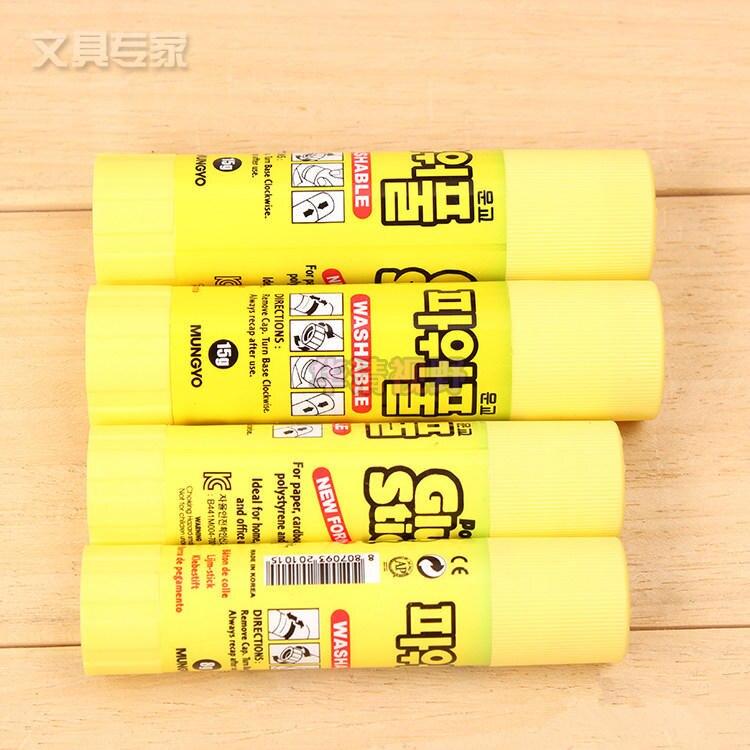 Корея AP клей-карандаш школьные и офисные принадлежности клей для бумаги 15 г Бесплатная доставка