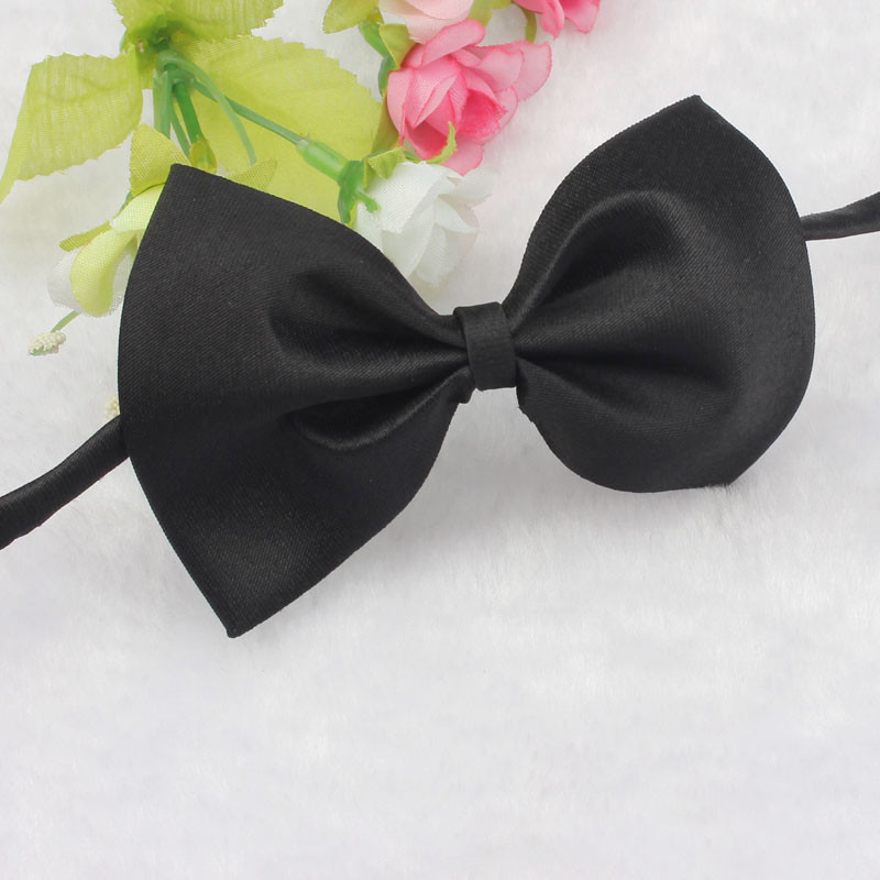 9 Candy Colors Fashion Cute Dog Puppy Cat Kitten Pet Toy Kid Bow Tie Necktie Clothes Adjustable Free Shipping