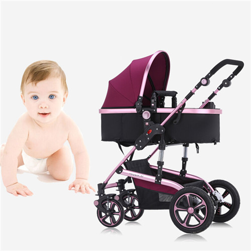 Baby Stroller Newborn Infant Carriage Strollers Fashion Pushchair Lightweight Portable Pram for Baby 0 36 Months