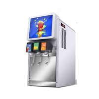 218 C 220V/110V Commercial 3 Valves Cola Making Machine Automatic Electric Cold Cola Dispenser Carbonated Drink Maker Machine