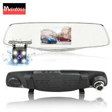 Videocamera per auto Specchio Retrovisore Dual Lens Auto DVR Dash Cam Auto Dvr Video Recorder Registrator FHD 1080 p di Visione Notturna Videocamera