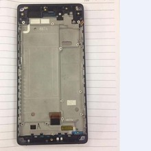 100% ทดสอบที่ดีที่สุดทำงานจอแสดงผล LCD หน้าจอสัมผัส Digitizer ประกอบกับกรอบสำหรับ ZTE Nubia Z9 Max NX510j NX512J โทรศัพท์อะไหล่
