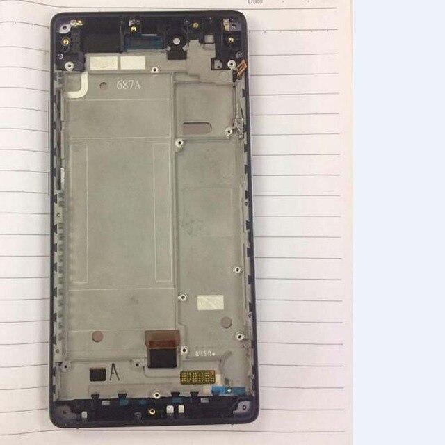 100% testé meilleur travail LCD écran tactile numériseur assemblée avec cadre pour ZTE Nubia Z9 Max NX510j NX512J pièces de téléphone