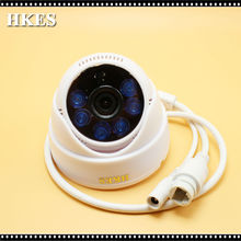 38pcs/lot CCTV HD 1MP 720P IP Camera 1MP Indoor Dome Security Camera 6 LED 1080P Lens 3.6mm Free Shipping