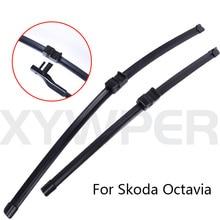 Ветровое стекло щекта стеклоочистителя для автомобилей для Skoda Octavia от 2004 2005 2006 2007 до 2012 стеклоочиститель автомобильные аксессуары