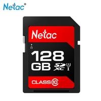 NetacSD Card UHS I P600 128GB Class10 U1 Memory Card C10 80MB/s Chinese red