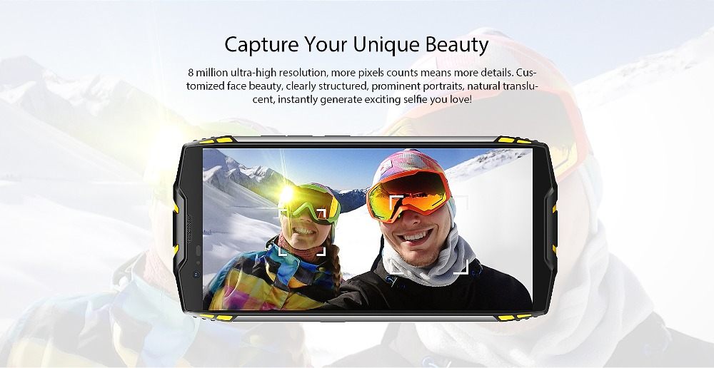 "HTB1mqSXdVyZBuNjt jJq6zDlXXaF Blackview BV6800 Pro Android 8.0 Outdoor Mobile Phone 5.7"" MT6750T Octa Core 4GB+64GB 6580mAh Waterproof NFC Rugged Smartphone"