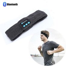 Promoting Price Unisex Warm Headband Wireless Earphones Bluetooth hat smart Headphone Headset Speaker Mic