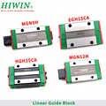 Original HIWIN carril bloque deslizante EGH15CA EGH20CA MGN9H MGN12H HGH15CA HGH20CA HGW15CC HGW20CC carril lineal de los vagones