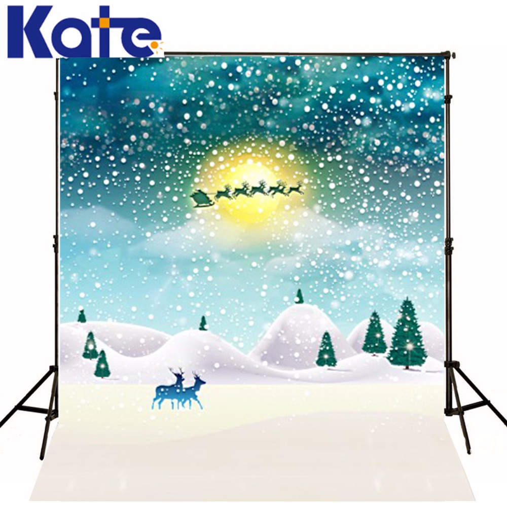 New Arrival Background Fundo Flying Deer Car Snow 6.5 Feet Length With 5 Feet Width Backgrounds Lk 3728 new arrival background fundo antique wall flowers 7 feet length with 5 feet width backgrounds lk 2916