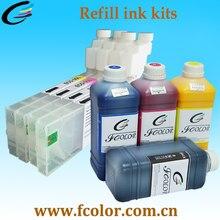 One-stop Afdrukken Oplossing voor Roland BN20 Max Permarent Chip BN-20 Met Eco-solvent Inkt Refill Kits Met schoonmaken Oplossing
