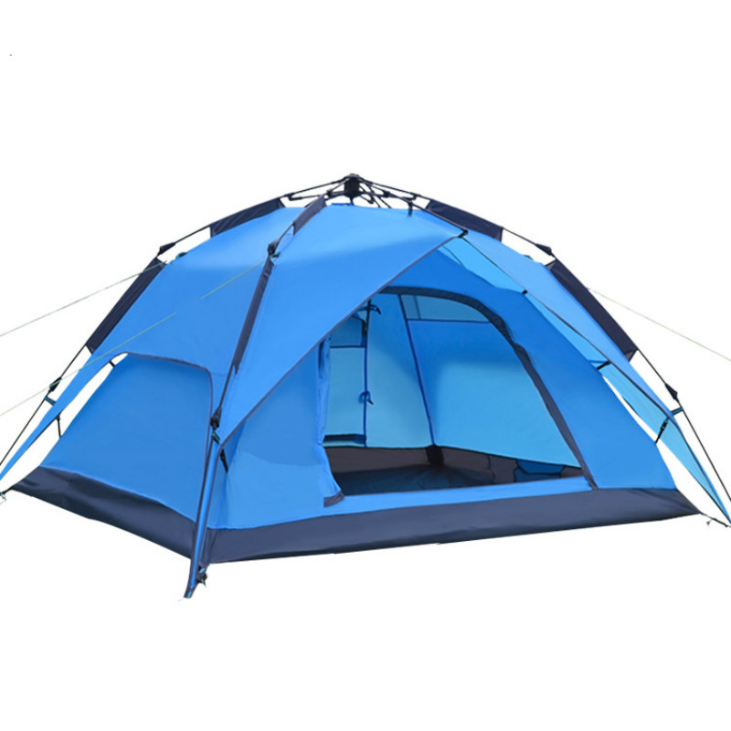 Outdoor Tent 3-4 Automatic Kamp Cadiri Double Multi-person Camping Tent Sandy Beach Tent Baraza De Acampamento Camp EquipmentOutdoor Tent 3-4 Automatic Kamp Cadiri Double Multi-person Camping Tent Sandy Beach Tent Baraza De Acampamento Camp Equipment