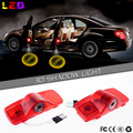 2x Car LED Courtesy Door Logo Projector Light Ghost Shadow Light for Accord Crosstour