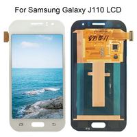 100% Tested Working For Samsung Galaxy J1 Ace J110 SM J110F J110H J110FM LCD Display With Touch Screen Digitizer Assembly
