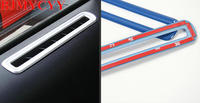 Free Shipping Car Stickers Of Car Door Air Conditioning Tuyere Stainless Steel Sequins For 2015 2016