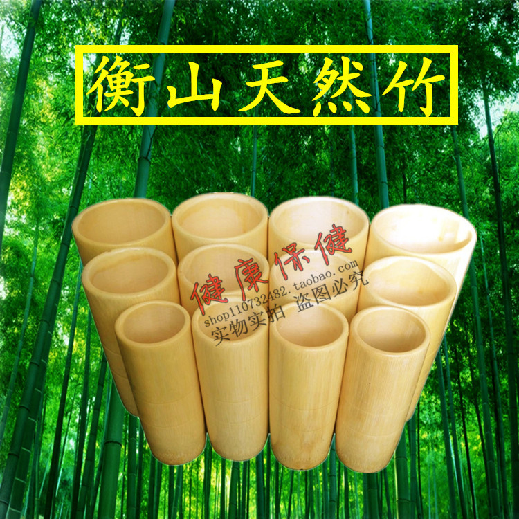 Ancient Chinese Cupping: Best Quality Chinese Bamboo Wooden Cupping Kit 12 Cups