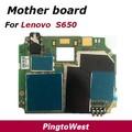Original utilizado funcionaba bien mainboard placa madre lenovo s650 con soldring volumen flex cable para lenovo s650 envío gratis