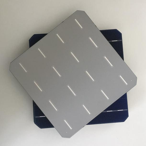 ALLMEJORES Monocrystalline solar cell 20.8% High Efficiency 156mmx156mm Good quality A Grade for diy solar panel 25pcs/Lot