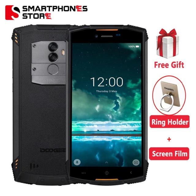 Original Doogee S55 4G LTE Dual Sim IP68 Smartphone Android 8.0 Octa Core 4G+64G Waterproof Shockproof Phone Fingerprint 5500mAh