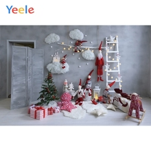Yeele Christmas Family Party Santa Claus Room Decor Photography Backdrops Personalized Photographic Backgrounds For Photo Studio недорого