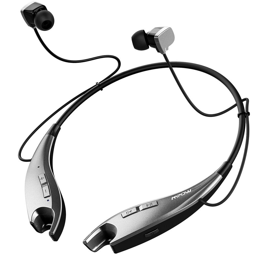 2017 NEUE Mpow Backen Drahtlose Bluetooth 4,1 Kopfhörer Hals Halfter-stil Headset Kopfhörer APTX Freisprechfunktion für Smartphones