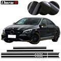 Édition 1 Style haut capot de toit bandes latérales autocollants pour Mercedes Benz W117 C117 X117 CLA45 AMG noir/blanc/5D carbone