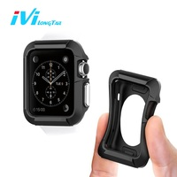 IVI Case For Apple Watch Series 1 2 38mm 42mm Case Cover Shockproof Silicone Rubber Gel