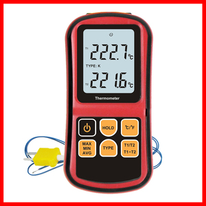 Image 3 - Professional thermometer Digital  Measure Too High Precision Temperature Meter Tester  with LCD Back light GM1312