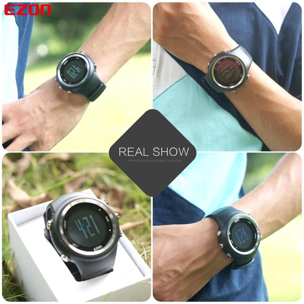 En çok satan EZON T031 GPS zamanlama spor izle spor açık su geçirmez dijital saat hız mesafesi kalori sayacı erkek izle