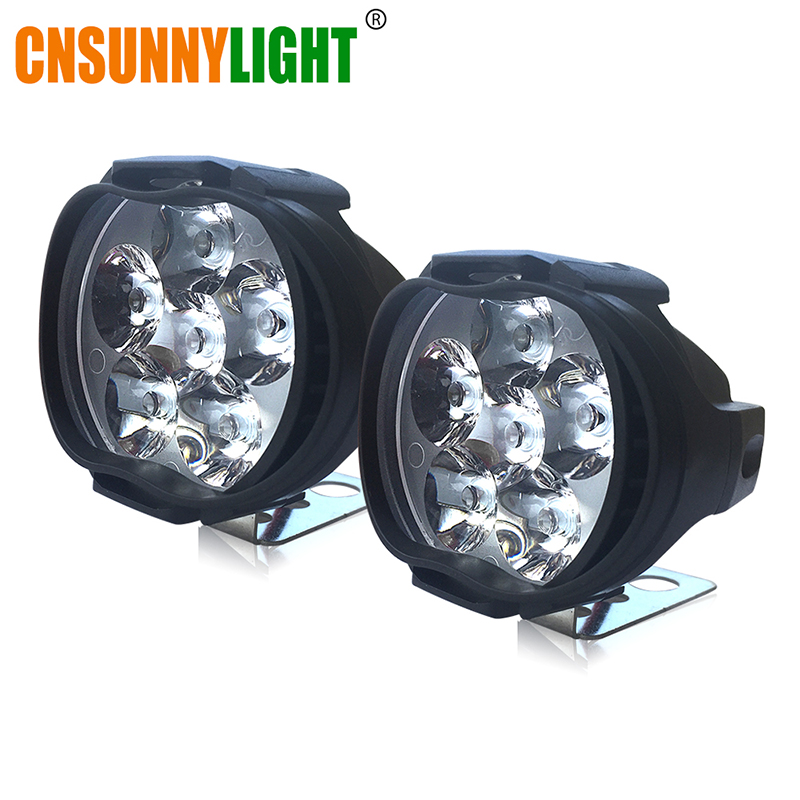 MOTO LIGHT 6pcs led headlight 800