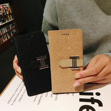 Coque 1+6T 1+7 1+7Pro Simple Couple Fashion Leather Flip Wallet Case For Oneplus Pro Casing  Card Cover Etui Glitter