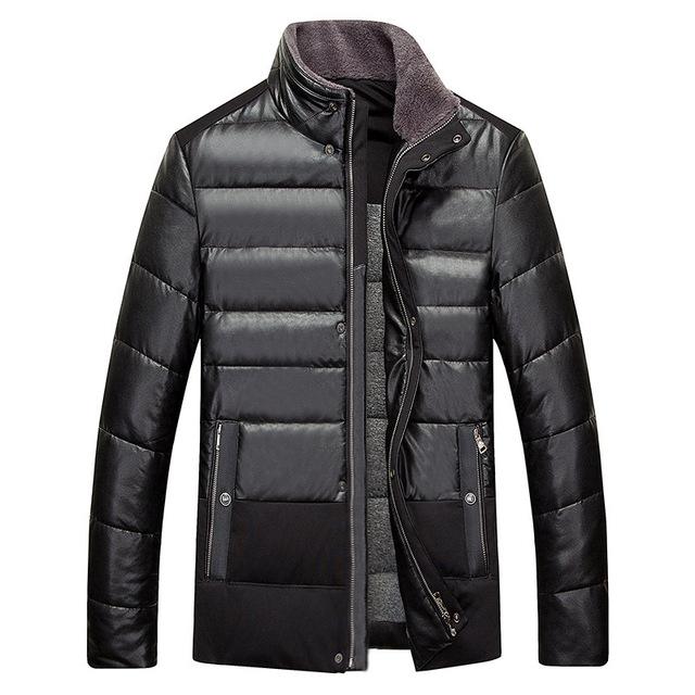 Euro style coat parka abajo hombres chaqueta de invierno para hombre chaqueta hombre tamaño M 3XL