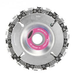 Высокое качество 4 дюйма шлифовальный диск и цепи 22 зуба изящно отделанный цепи набор для 100/115 мм угловой шлифователь Главная DIY дропшиппинг