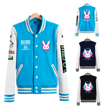 D.va Jacket Dva Baseball Coats Autumn Clothes For Women D.va Jackets Tracer Genji Reaper Reinhardt Pharah Soldier 76 Unisex Coat