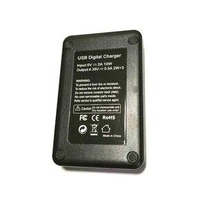 Image 4 - Mới SJCAM 3 USB 3 Khe Cắm Sạc Pin LCD Dugl Sạc Dành Cho Sj6 Truyền Thuyết/Sj7 Sao/Sj8 pro Plus Không Hành Động Phụ Kiện