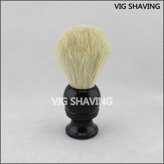 2015 hot sale wood black handle Horse hair men shave brush