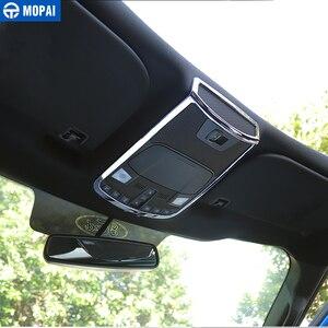Image 5 - Mopai abs luz de leitura do carro lâmpada decoração quadro capa anel interior adesivos acessórios para ford f150 2015 up estilo do carro