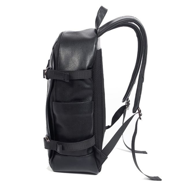 2018 Fashion Usb Charging Backpacks PU Leather Backpack Waterproof Men's School Bags Big Capacity School Backpacks waterproof School Bags