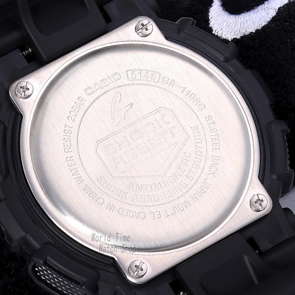 718023cdcb7f Aliexpress.com  Comprar Reloj Casio G SHOCK de los hombres de cuarzo reloj  deportivo de gran dial impermeable al aire libre g shock reloj GA 110RG de  watch ...