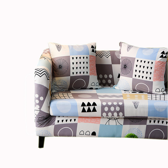 Geometric Stretch Sofa Slipcover Sofa Covers Chair Covers 3 Seater Protectors Couch Covers cheap machine