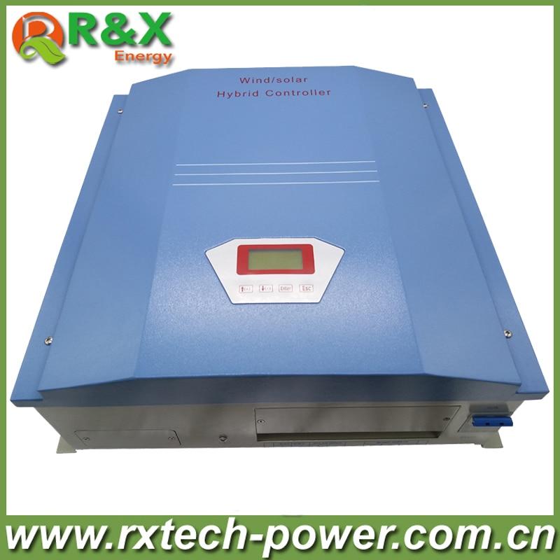 R & X 1000 Вт ветряной солнечный гибридный контроллер 24 В/48 В для ветряной турбины и 300 Вт солнечная панель с разгрузочным резистором Одобрено CE