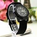 1pcs Unisex Analog Men Luminous Quartz Wrist Watch Canvas Belt Army military Sport Style FreeShipping Brand New