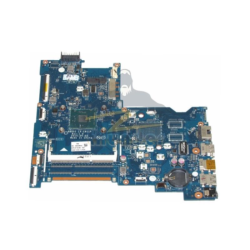 LA-C811P REV 1.0 815248-501 for HP 15-ac 15-ac505tu laptop motherboard N3050 DDR3L 744009 501 744009 001 for hp probook 640 g1 650 g1 motherboard socket 947 hm87 ddr3l tested working
