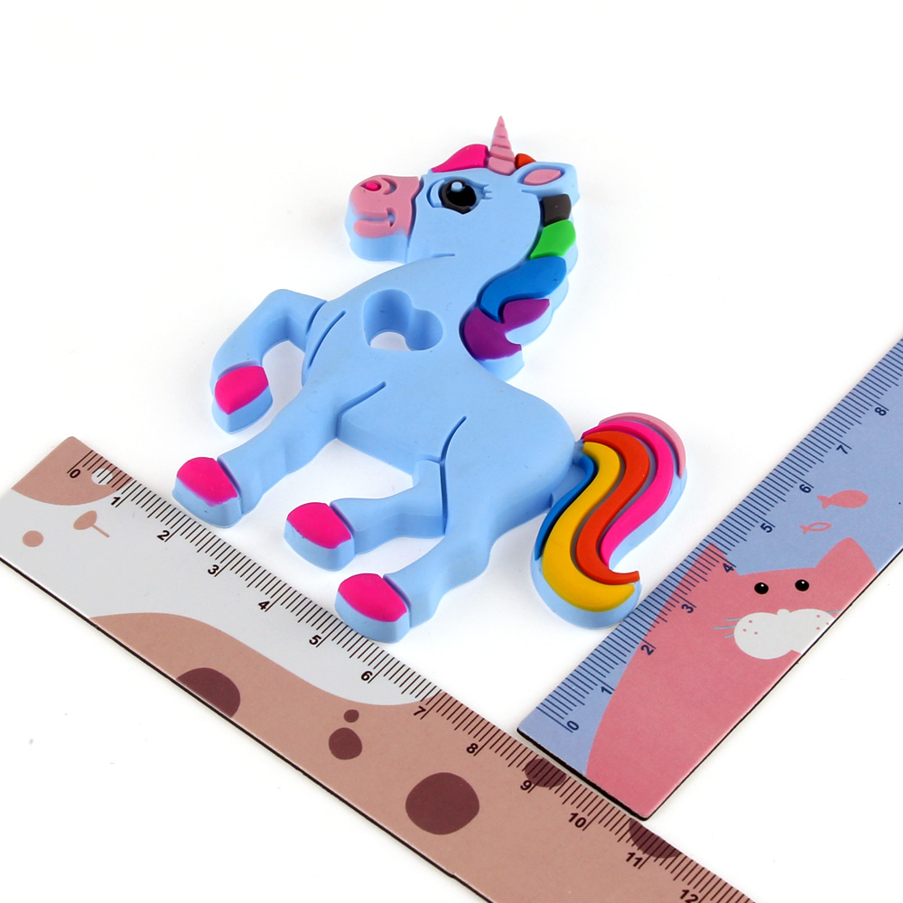 TYRY.HU Mordedor de unicornio de silicona 1Pc Mordedores de bebé de - Cuidando a un niño - foto 4
