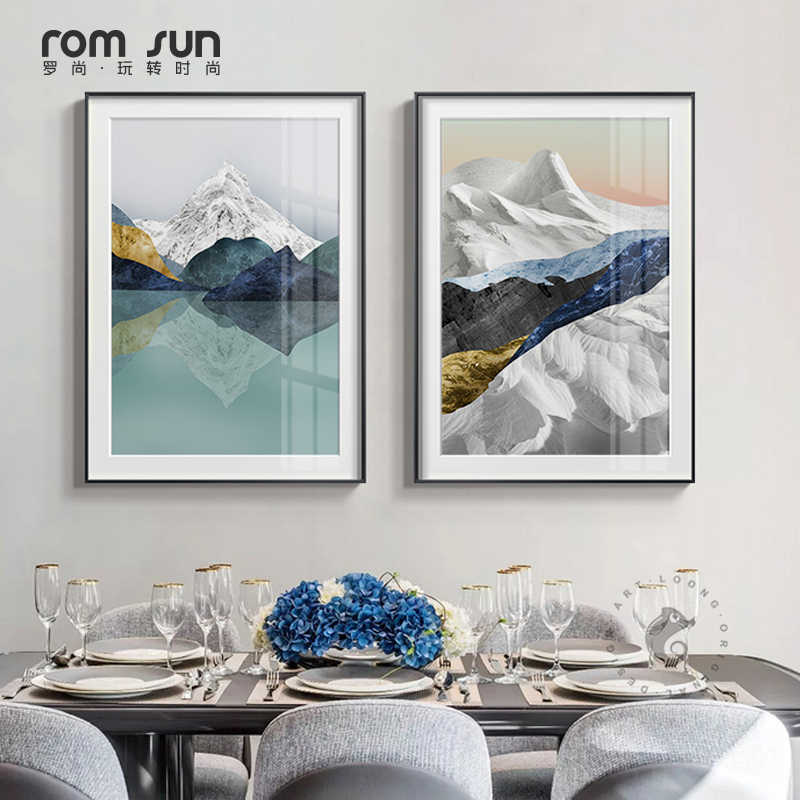 Modern Mountains All kinds Canvas Painting posters  art cuadros decoracion dormitorio and prints wall pictures for living room